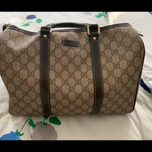 ced56a4ab Gucci Bags | Gg Plus Medium Joy Boston Bag Brown | Poshmark
